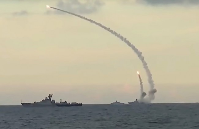 Modern Russian anti-ship missiles, like Onyx, have an operational speed of up to 2.6 Mach (750 m/s or 2,700 km/h). The sea-based Kalibr cruise missile travels at a mere 0.9 M speed, yet when approaching the target its warhead speeds up to 2.9 M.