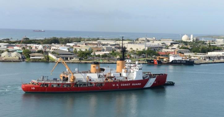 United States' lone heavy icebreaker begins Antarctic deployment