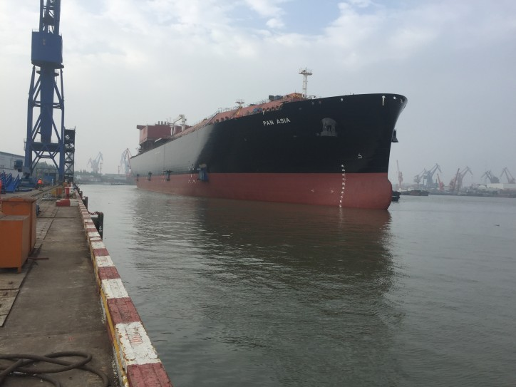 Teekay's First LNG Newbuilding Carrier Built in China Completes Sea Trials