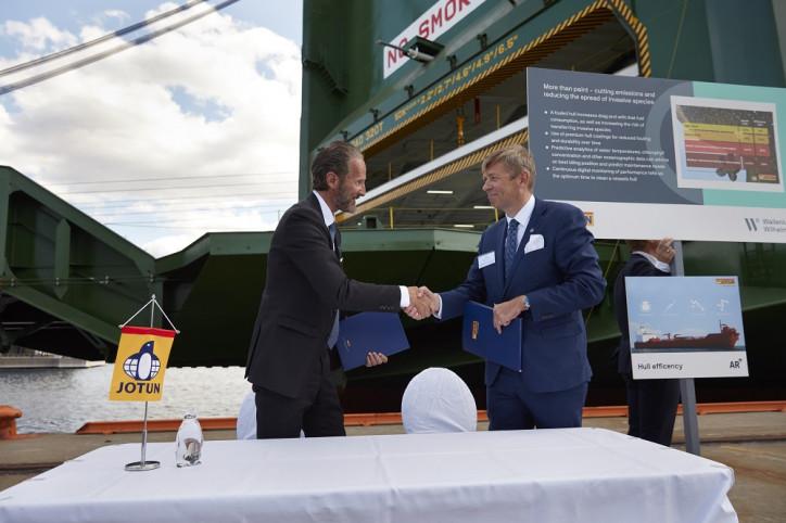 Jotun signs 42 vessels HPS contract with Wallenius Wilhelmsen