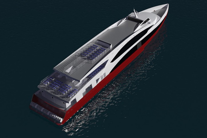 Incat Crowther to Design 63 million Monohull Passenger Ferry