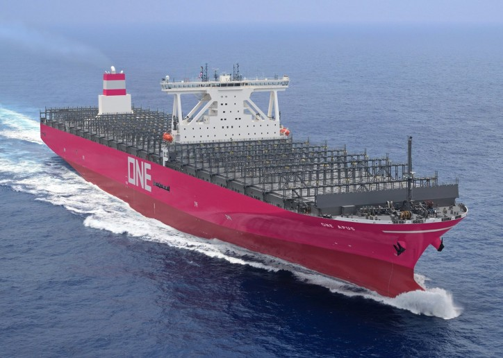 ONE takes delivery of 14,000-TEU Containership ONE APUS
