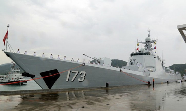 Chinese frigate said to be disabled, drifting in Indian ocean