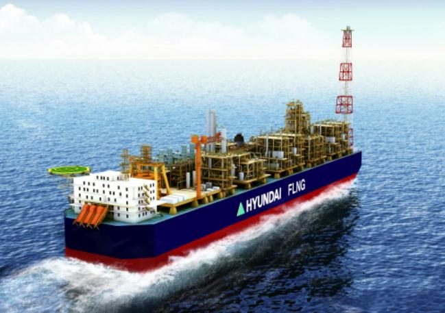 ABS Awards AIP for HHI FLNG Hull