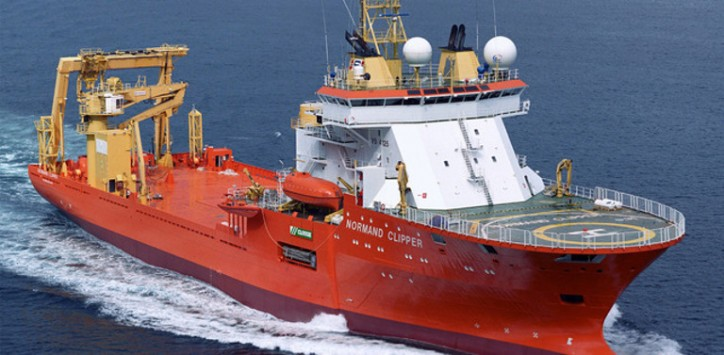 Contract for CSV Normand Clipper with Bibby Offshore Limited