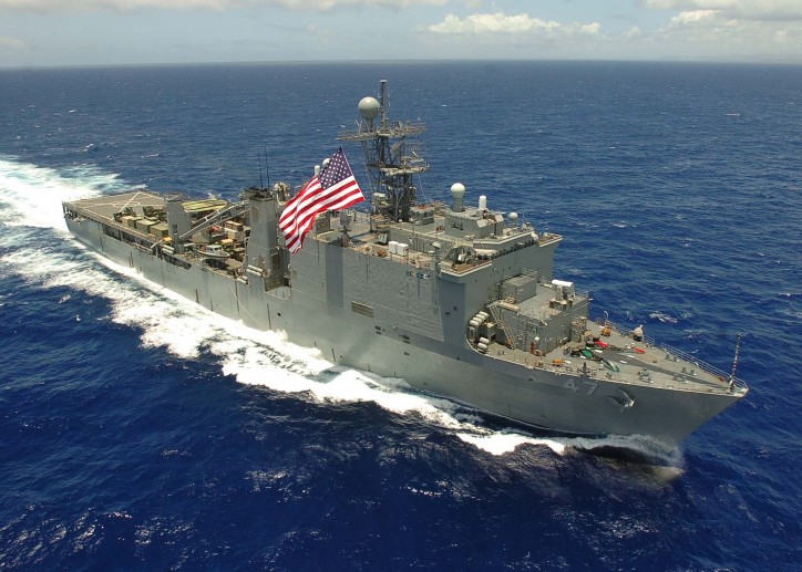 USS Rushmore rescued 65 People Near Indonesia