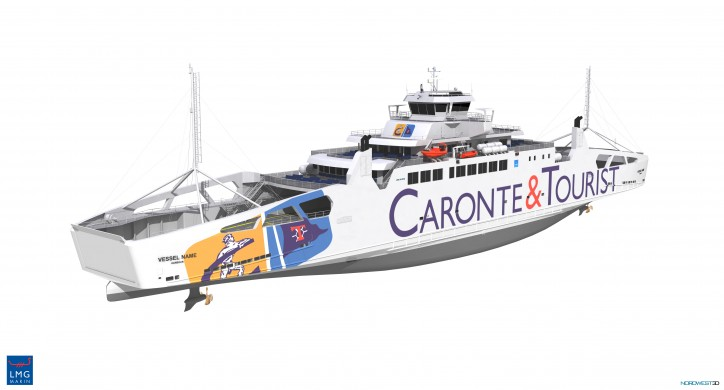 LMG Marin to design the first LNG-fueled ferry for the Mediterranean Sea
