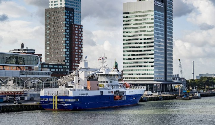 'Bibby WaveMaster 1' officially named in Rotterdam