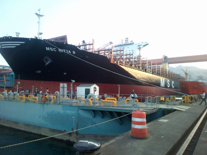 Seaspan Accepts Delivery Of Third 11000 TEU SAVER Containership MSC Nitya B