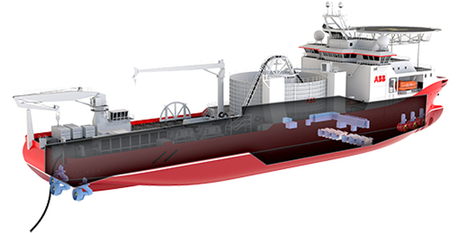 ABB Places Order For Highly-Advanced Cable-Laying Ship
