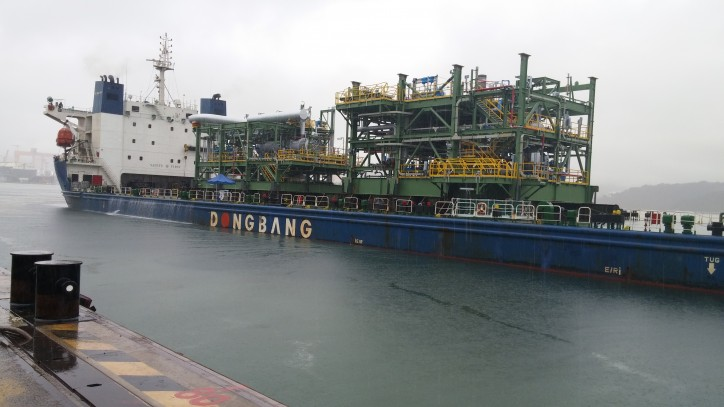 DTL has started to Carry Out the Sea-Transportation for TCO FGP