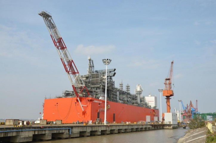 EXMAR takes delivery of Caribbean FLNG from Wison Offshore & Marine