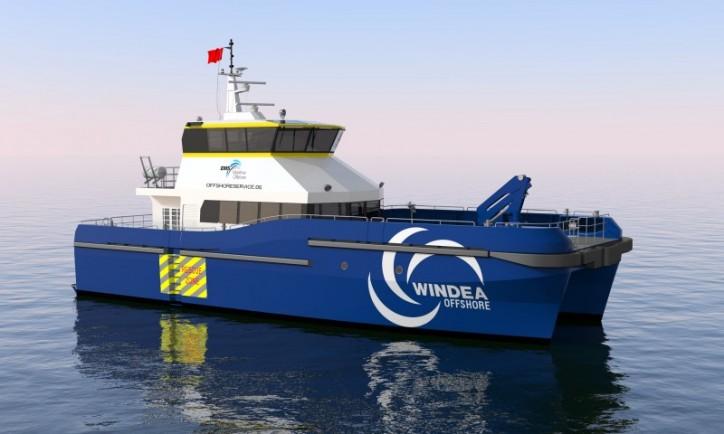 EMS Maritime Offshore adds a catamaran to its fleet