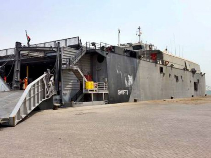 Update - UAE calls Al Houthi ship attack 'a terrorist act'