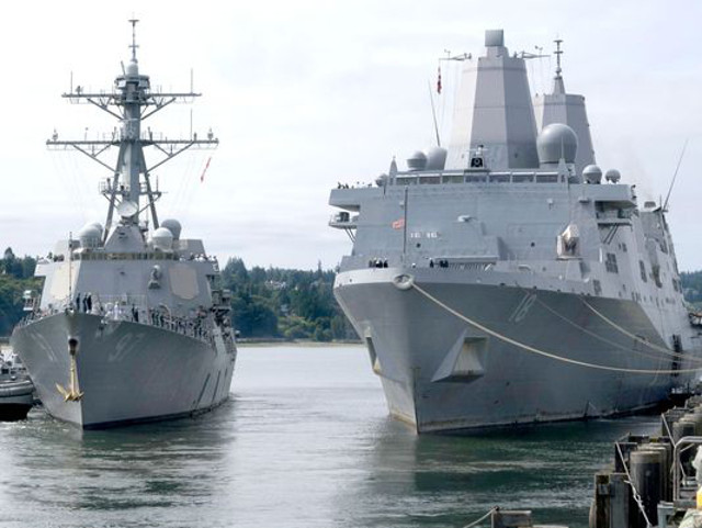 New Amphibious Ship Ordered for US Navy, Destroyer To Come