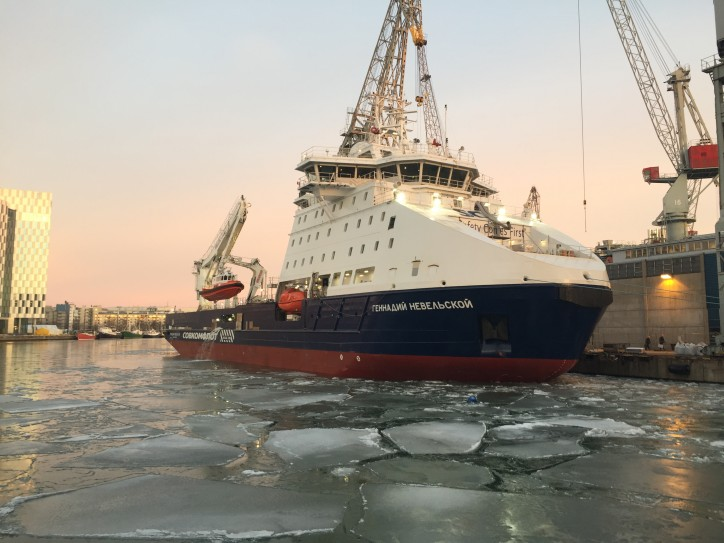 New supply vessel for Sakhalin-2 project named Gennadiy Nevelskoy