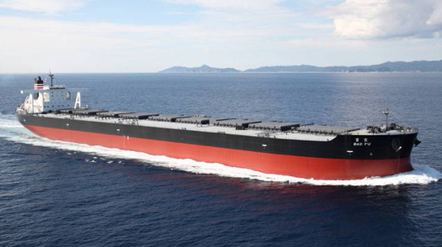 Japan's largest steel producer place an order for nine super-capesize bulkers