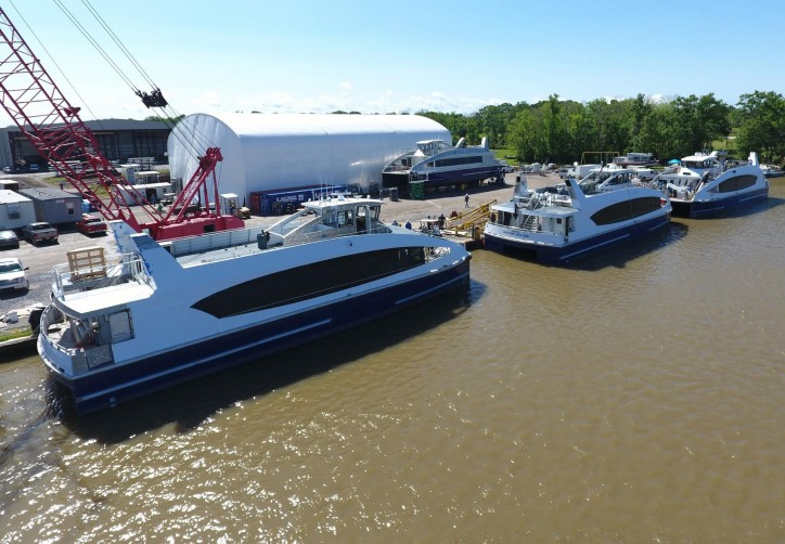 Metal Shark building four 350-passenger vessels and an additional 150-passenger vessel for NYC Ferry