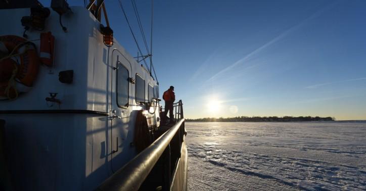 Coast Guard 2018 icebreaking season is underway