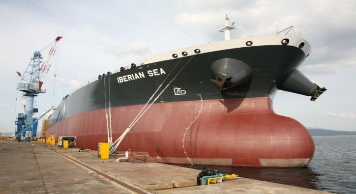 Hanjin Shipyard Delivers 2 units of 114K Crude Oil Tanker