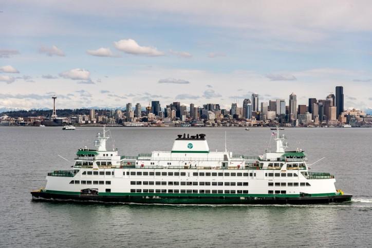 Third Olympic Class ferry joins WSF fleet