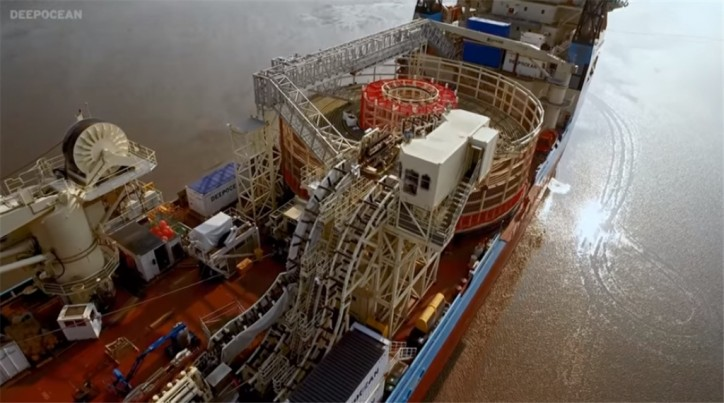 Video: The first engineered grounding of DeepOcean's Maersk Connector