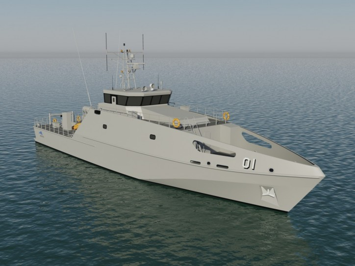 Austal Pacific Patrol Boat Replacement Design