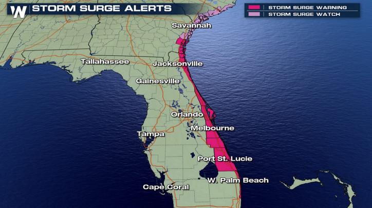 Hurricane Dorian hits Bahamas, moving to Florida