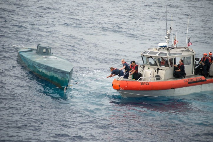 Coast Guard Seizes Cocaine Worth USD 181 Million On Sub