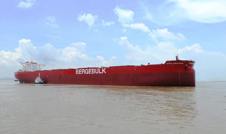 Berge Annapurna joins Berge Bulk's fleet