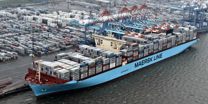 Maersk Line enhances Asia-Europe and Transpacific services