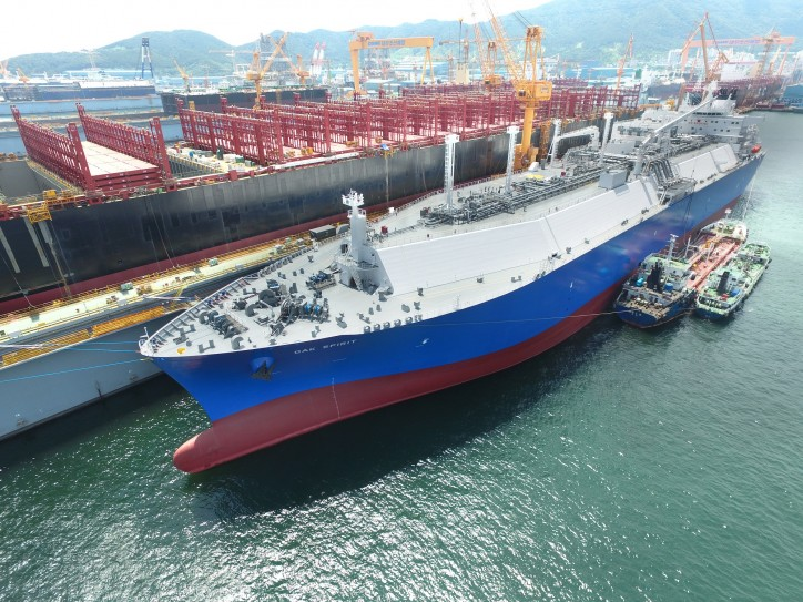 World's Second MEGI-Type LNG Carrier Delivered