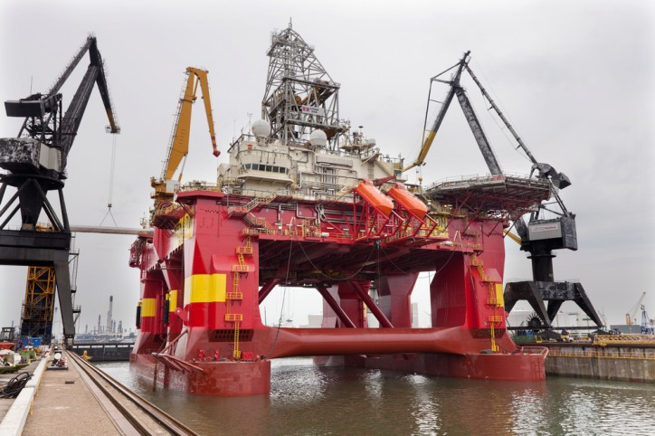 Damen Verolme Rotterdam wins refit contract for drilling rig 'Stena Don'