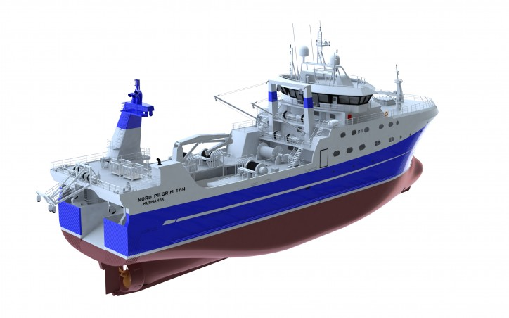 Wärtsilä engines and propulsion solutions to power two new fishing trawlers