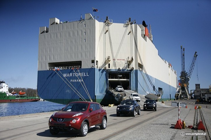 Nissan Chooses The Port of Gdansk - Another Automotive Contract At The Port