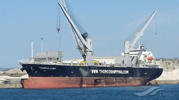 Cargo ship Thorco Luna banned from Australian ports