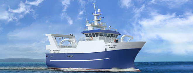 Vard secures contract for the construction of one fishing vessel for Remøybuen AS