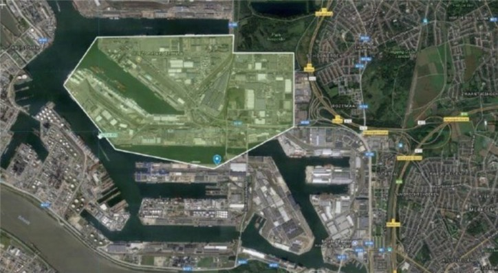 Major fire in Port of Antwerp triggers disaster plan