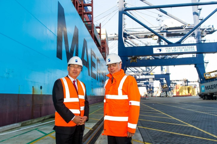 IMO Maritime Day Theme Launched At The Port Of Felixstowe