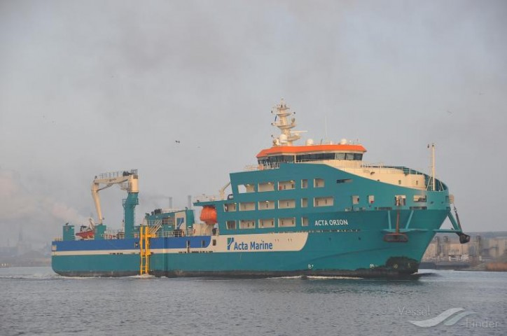 W2W vessel Acta Orion to support Tideway B.V. (DEME Group) at Merkur OWF