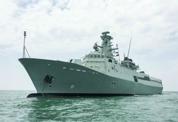 Patrol Vessels Delivered, Named for Oman Navy