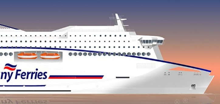 Brittany Ferries prepares way for new liquid natural gas (LNG) powered ship