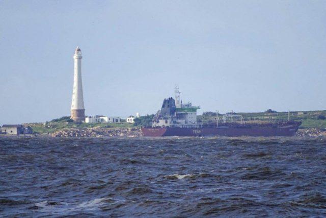 Tanker Siteam Anja aground off Punta del Este, Uruguay