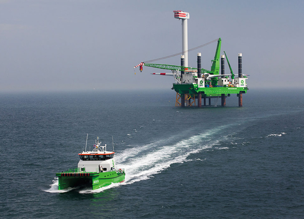 China COSCO Shipping and DEME team up to develop offshore wind energy in China