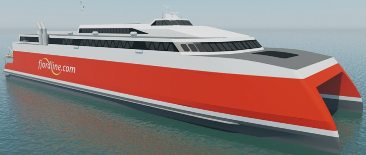 Fjord Line invests in new tonnage - doubles the capacity on the fastest route between Norway and Denmark