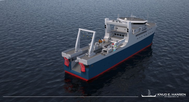 KNUD E. HANSEN releases an entirely new design for the ocean factory trawler segment
