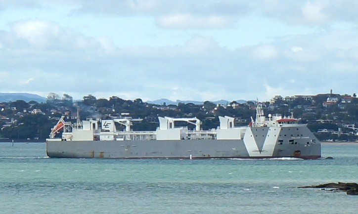 Livestock carrier Girolando Express loaded with over 4000 cattles stranded in Port Phillip Bay