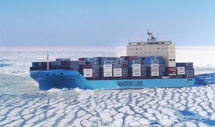 Maersk to Send First Container Ship Through Arctic
