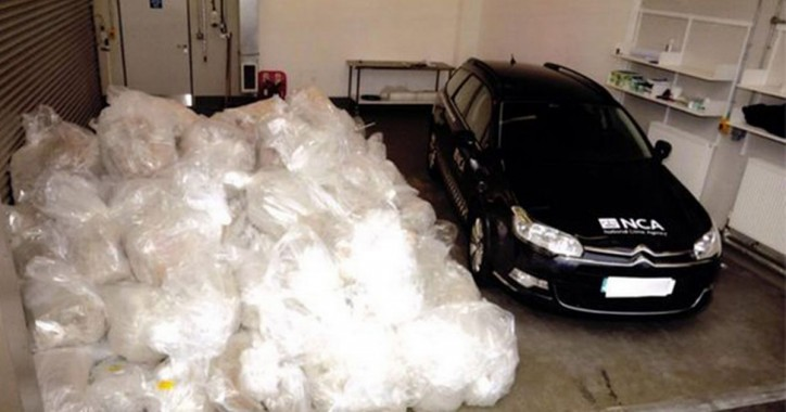 Britain's biggest cocaine bust: Two men found guilty of smuggling £512million of coke into Scotland