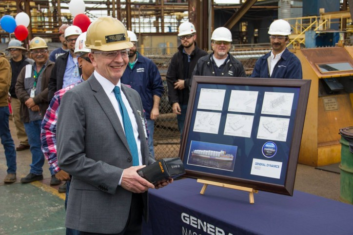 Second Matson Containership Begins Construction at General Dynamics NASSCO